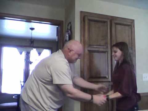 AN OLD MAN and two girls to the cinnamon challenge