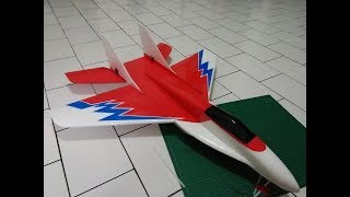 How to build and maiden flight rc plane mig-29