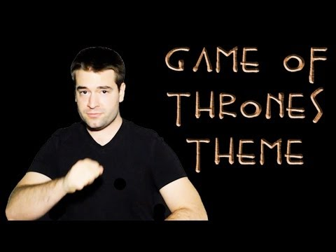 Game of Thrones Theme (Vocal/Cello Cover)