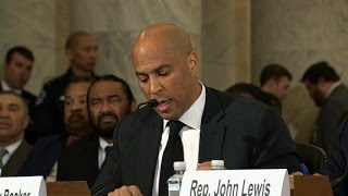 Download Cory Booker testifies against Sessions 3Gp Mp4