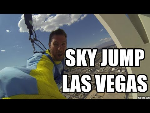stratosphere sky jump Las Vegas | Holy Crap!!!  skyjump Las Vegas