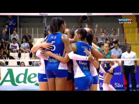 Superliga Brasileña: Rexona-Ades, Molico, Sesi y Minas en semifinales (VIDEO)