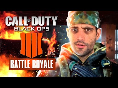 Os TRAPALHÕES no Battle Royale de Call of Duty Black Ops 4
