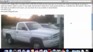 Craigslist Iowa Used Cars for Sale by Owner - YouTube
