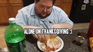 Francis is Alone on THANKSGIVING