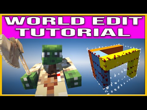 Minecraft World Edit Tutorial by andyisyoda