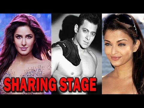 Salman Khan, Katrina Kaif and Aishwarya Rai Bachchan to share stage! | Bollywood News