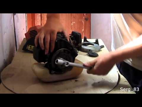 Бензотриммер лесник ремонт своими руками