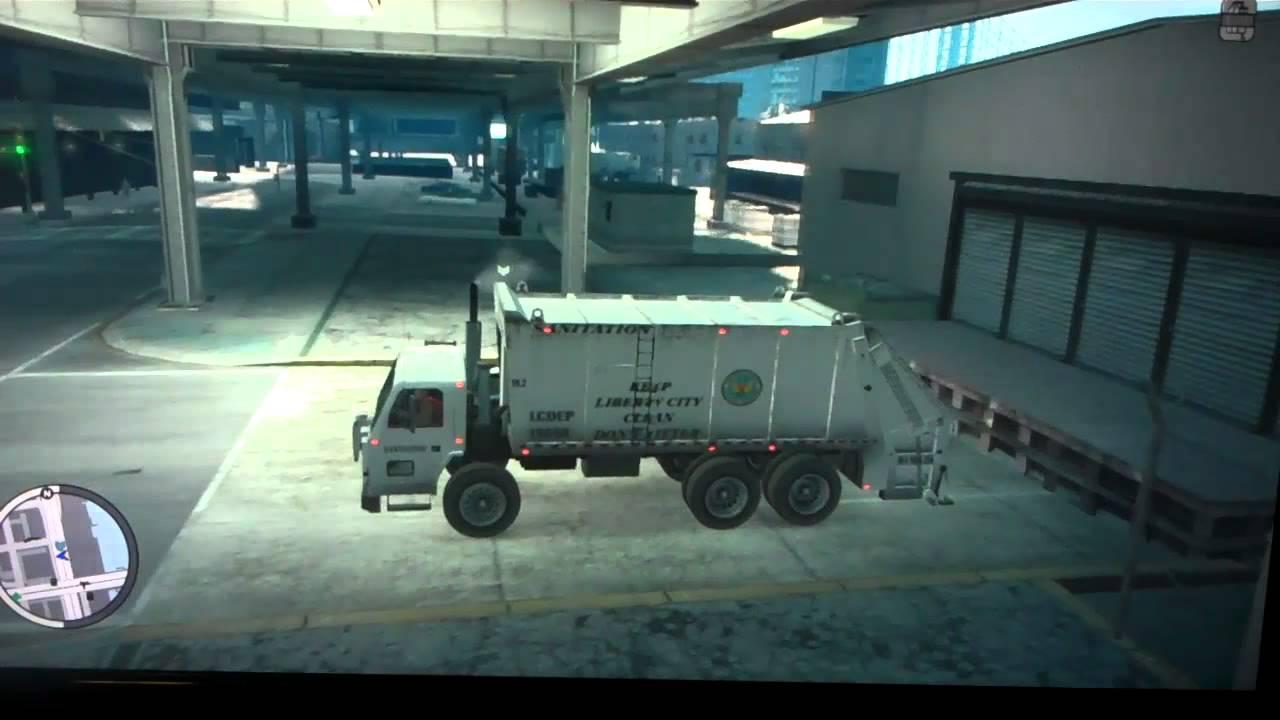 Truck Locations Gta 4 Truck And Fire Truck Gta 4
