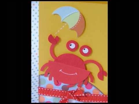 Craft Ideas  Pregnancy on Ku Ku Punch Card Crab Sunshade Cangrejo Sombrilla