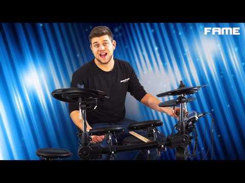 Fame DD-5500 PRO E-Drum Kit Review | Demo | Sound