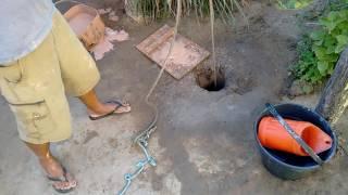 Cavando poço artesiano manual part. 01