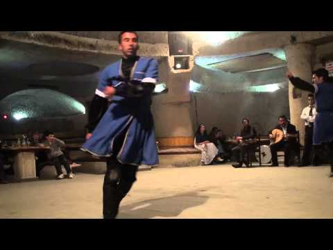 Caucasian Folk Dance with knives