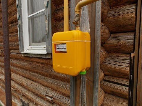 Ящик для газового счетчика своими руками из канистры 41