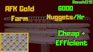 Super Cheap Super Fast: Gold Farm 1.14.4+ (6000 Nuggets/hr) | Minecraft