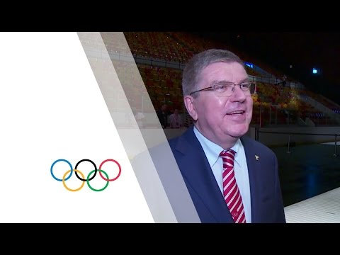 IOC President Thomas Bach remembers Montreal 1976