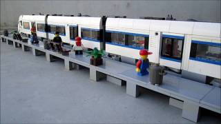 LEGO Intercity Train with automatic sliding doors
