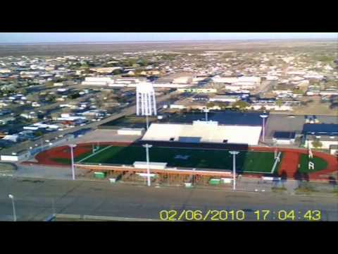 Monahans, Texas Aerial Video