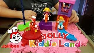 2017 Jollibee's Jolly Kiddie Land (complete Kiddie Meal toy set)