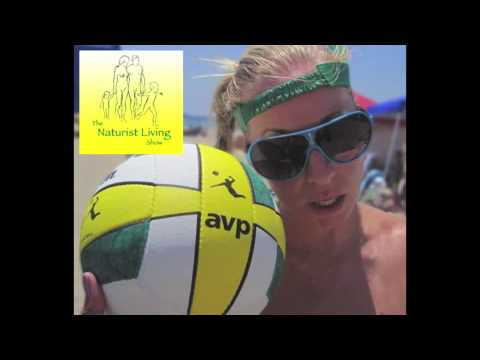 Naturist Living Show Episode Lvi - Michele Rauter: A Pro Volleyball Player In The Naturist World video