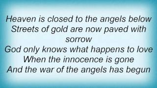 Watch Lita Ford War Of The Angels video