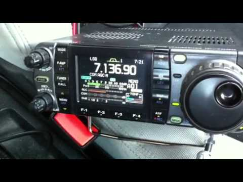 40m mobile DX UK - VK7