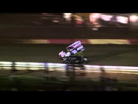 Lincoln Speedway 410, 358 and 305 Sprint Car Highlights 9-20-14