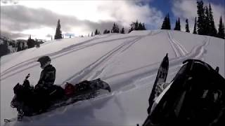 Backcountry Snowmobiling in Bedford, Wyoming