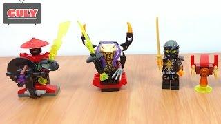 bộ 4 Lego NinjaGo mới  Đội quân đá của garmadon