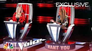 Download Lagu The Voice 2018 - Kelly Clarkson and Jennifer Hudson Are TEAM K-HUD (Digital Exclusive) Gratis STAFABAND