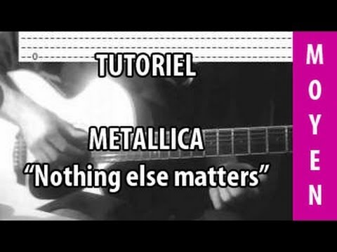 Nothing Else Matters - Metallica - Cours Guitare ( Intro)