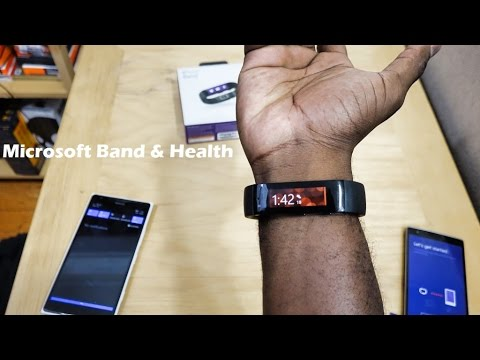 Microsoft Band & Health: Unboxing, First Impressions & Setup