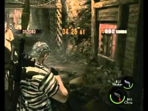 Resident Evil 5 Coop Funny#11