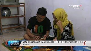 Viral Pasangan Muda Menikah Setelah Bertengkar di Medsos