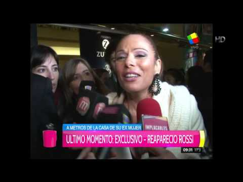 Iliana Calabró habló de las infidelidades del Rossi