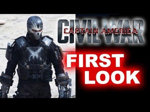 Captain America 3 Civil War - Crossbones & Wakanda First Look - Beyond The Trailer