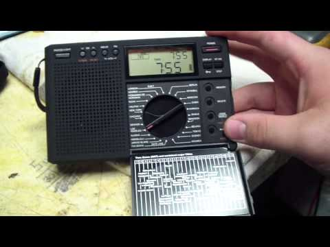 Grundig G8 Traveler II Digital AM-LW-FM-SW World Time Radio.
