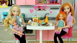 Bebes de Elsa y Anna Cocinando - Especial del Dia de Las Madres - Historias de Titi
