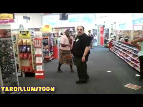 Jamaican Christian woman VS SATAN @ NYC CVS[ 2011 ] | RE-Edit