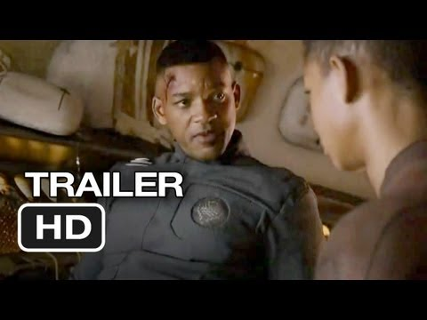 After Earth is listed (or ranked) 8 on the list New Movie Trailers 2012