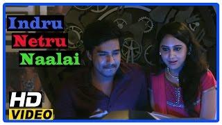Indru Netru Naalai Tamil Movie | Scenes | Vishnu shows Mia George time travel machine | Karunakaran