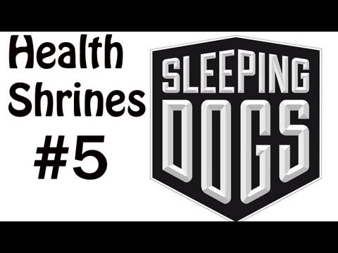 Sleeping Dogs Collectible Walkthrough- Health Shrines - Kennedy Town