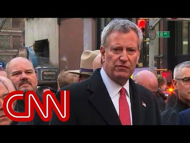 NY mayor: Attempted terrorist attack near Times Square