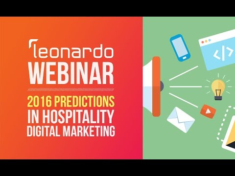 Webinar: 2016 Hospitality Digital Marketing Trends