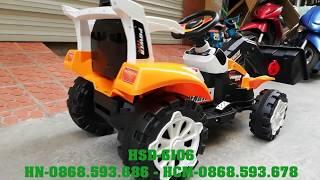 Xe cần cẩu máy xúc điện cho bé HSD-6106