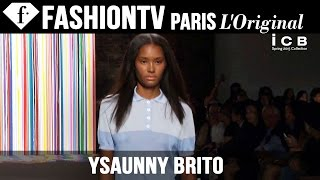 Model Ysaunny Brito | Beauty Trends for Spring/Summer 2015 | FashionTV