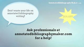 Annotated Bibliography Maker Video Review