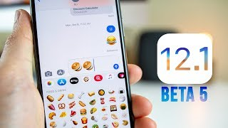 iOS 12.1 Beta 5 Released - What's New?