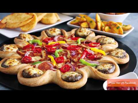 Pizza Hut's Cheeseburger-Stuffed Crust Pizza Spreads thumbnail