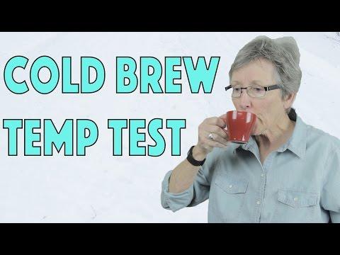 Cold Brew Temperature Test